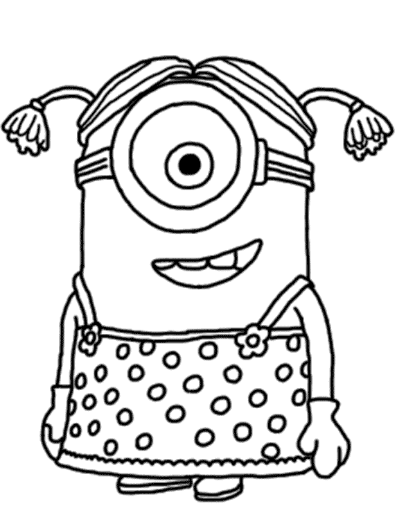 color alive pages minion the minion comes alive and is sitting on