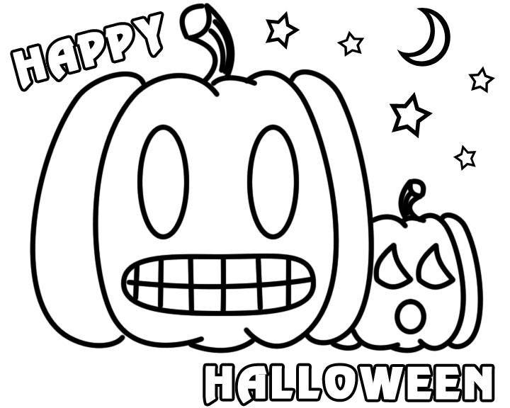 happy halloween coloring pages 6 coloring kids
