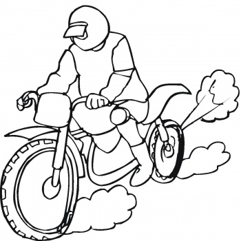 motorcycle coloring pages 16 coloring kids