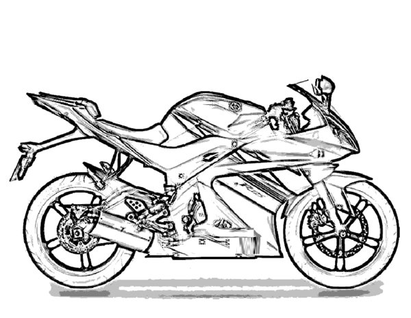 motorcycle coloring pages 8 coloring kids