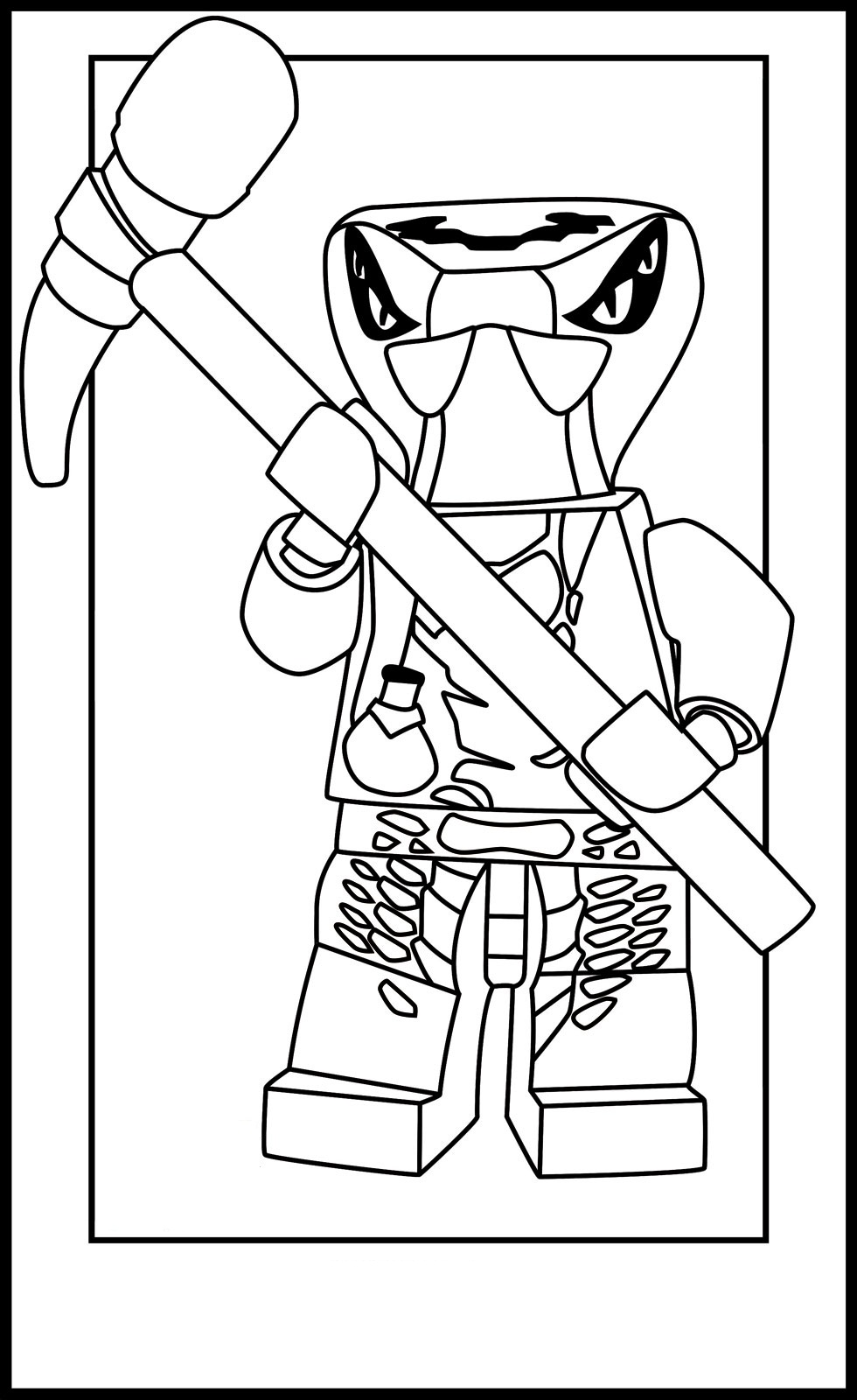 Ninjago Free Coloring Pages Coloring Kids