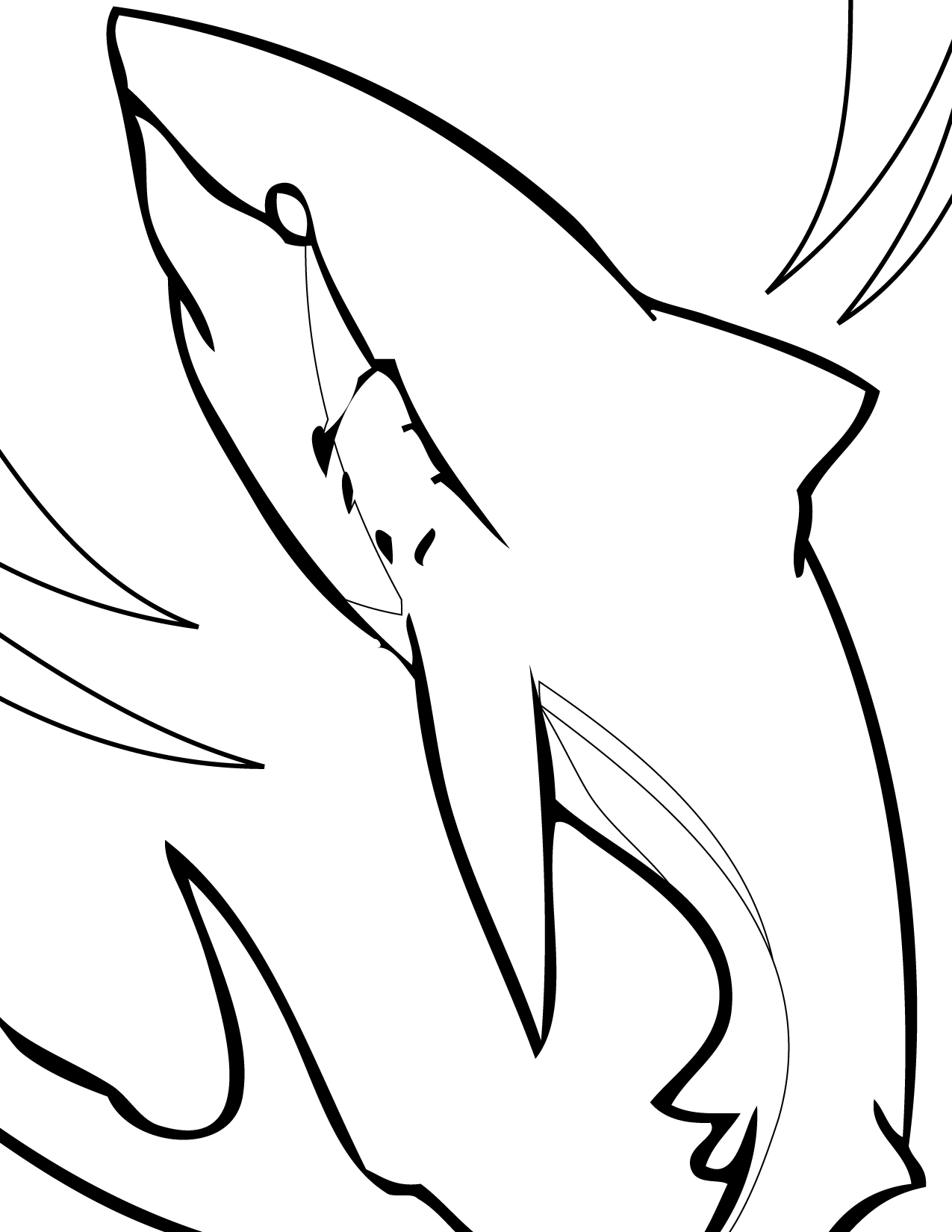 Shark Coloring Pages 12 Coloring Kids