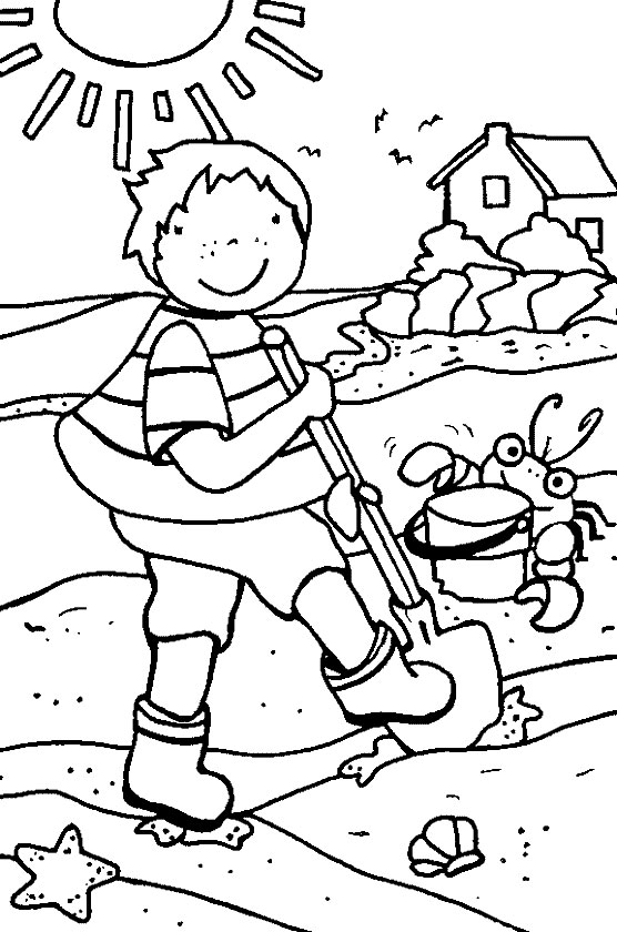 summer coloring pages to color coloring pages for summer verdao co