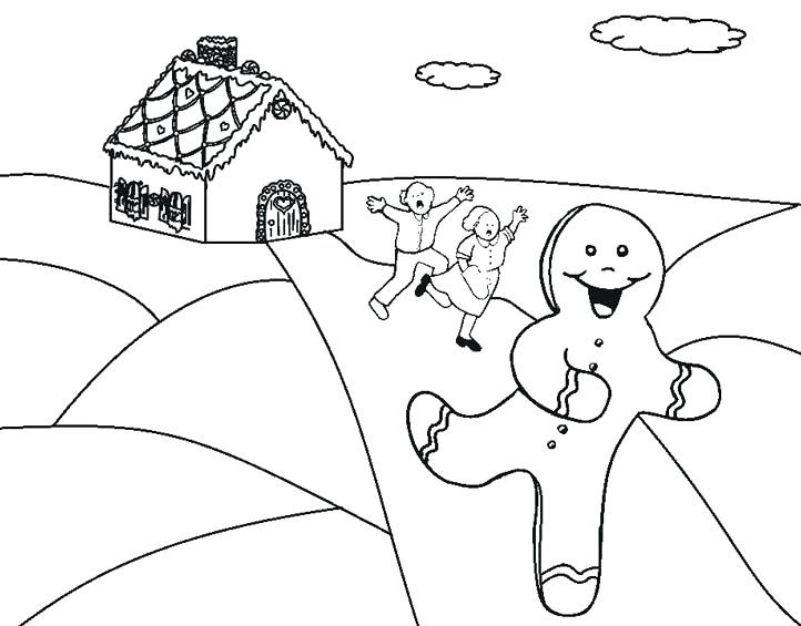 Gingerbread Man Coloring Lesson Coloring Pages For Kids Coloring Lesson Free Printables And Coloring Pages For Kids