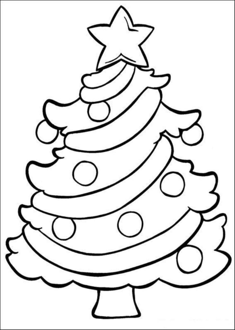 Cute Simple Mom Cute Christmas Coloring Pages Printable   Novocom.top
