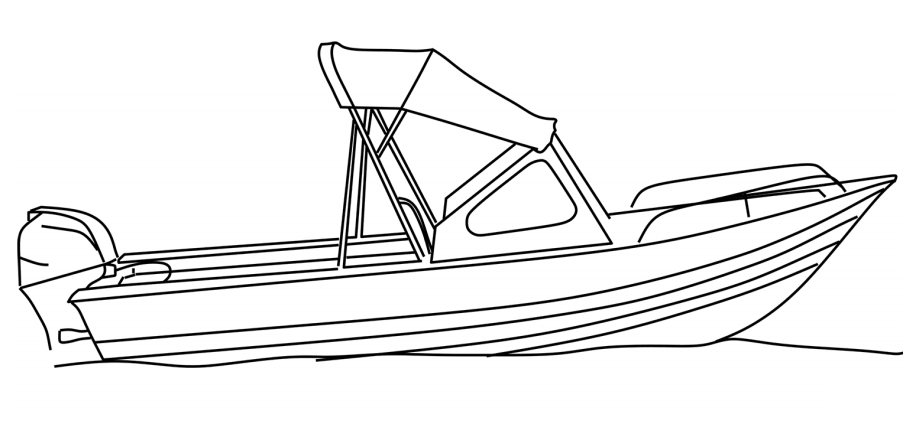 A Fishing Boat Coloring Page Free Printable Coloring Pages For Kids
