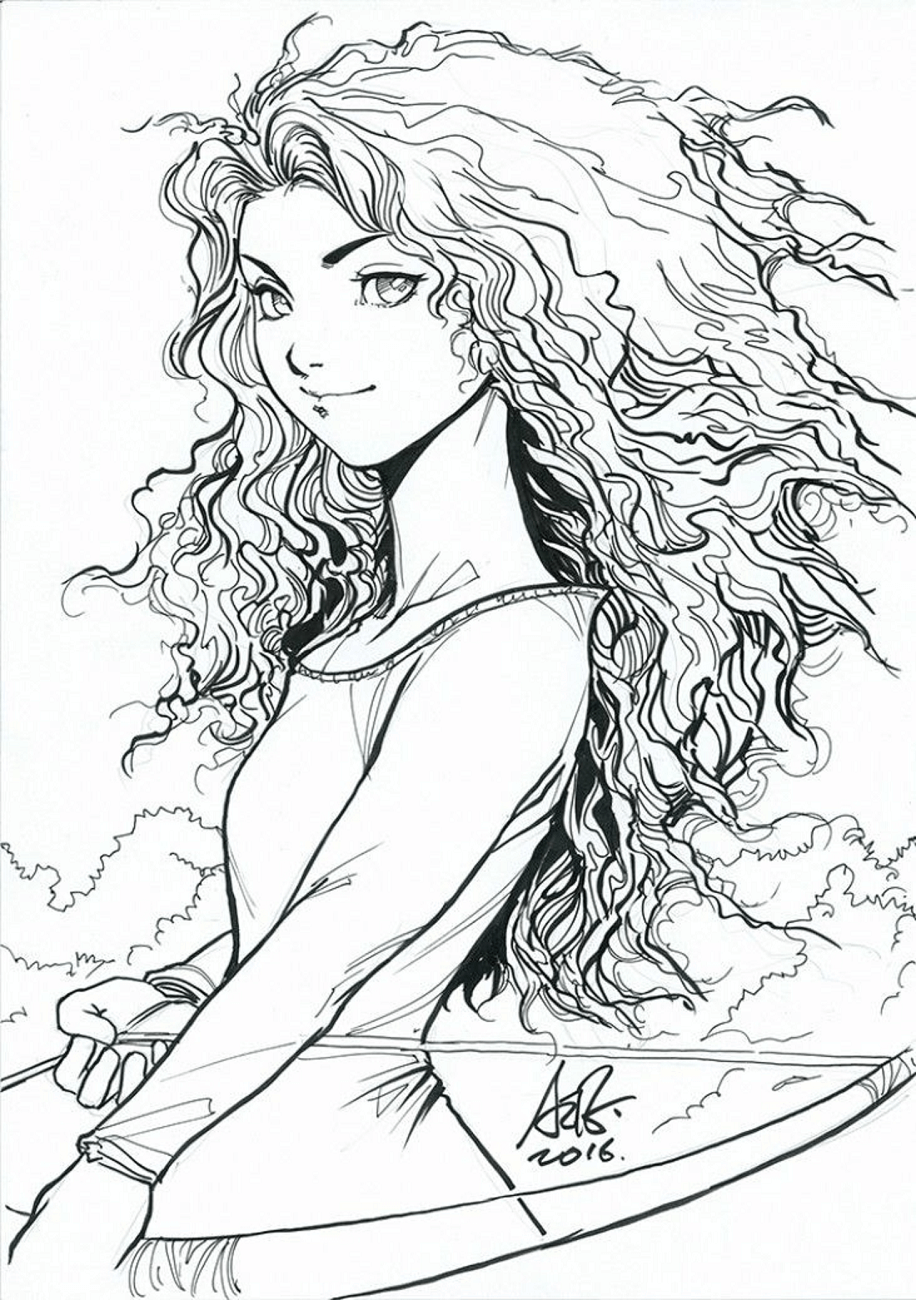 Merida Coloring Pages Free Printable Coloring Pages For Kids