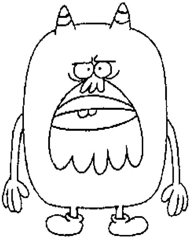 Chestnut from Chowder Coloring Page - Free Printable Coloring