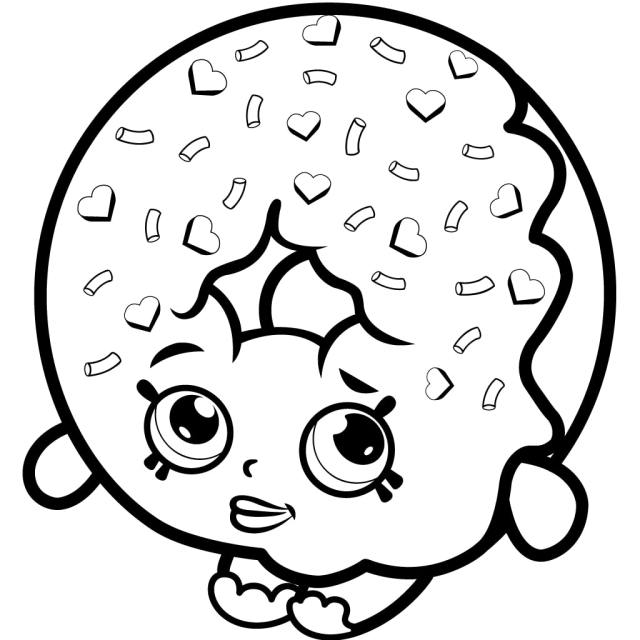 Shopkins Coloring Pages - Free Printable Coloring Pages for Kids
