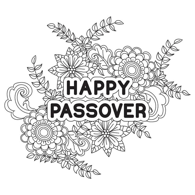 Passover 3 Coloring Page Free Printable Coloring Pages For Kids