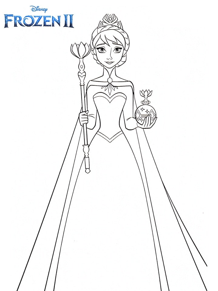 Free Printable Bruni Free Printable Frozen Coloring Pages Novocom Top