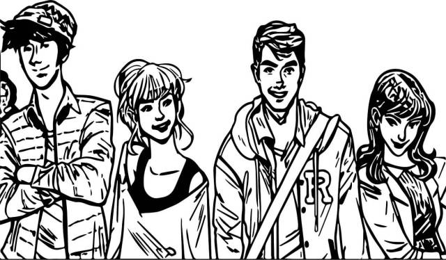 Riverdale 11 Coloring Page - Free Printable Coloring Pages for Kids