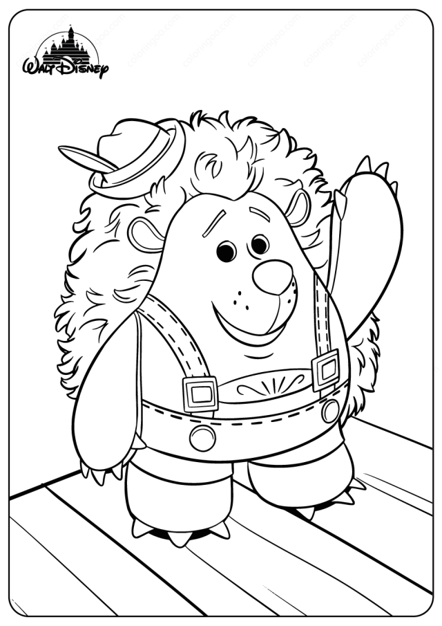 Disney Toy Story Mr Prinklepants Coloring Pages