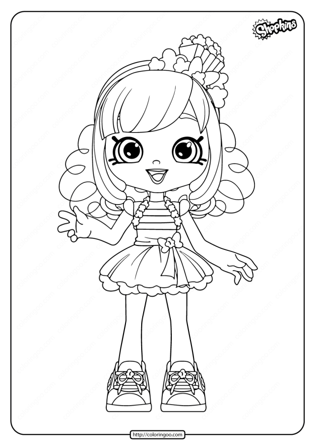 Shopkins Halloween Coloring Pages – iconmaker.info