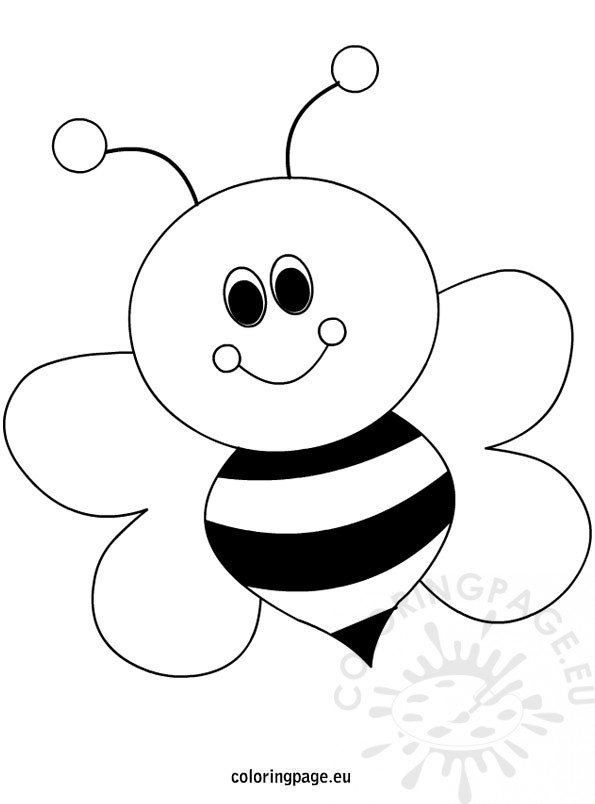 bubble bee trans colouring pages