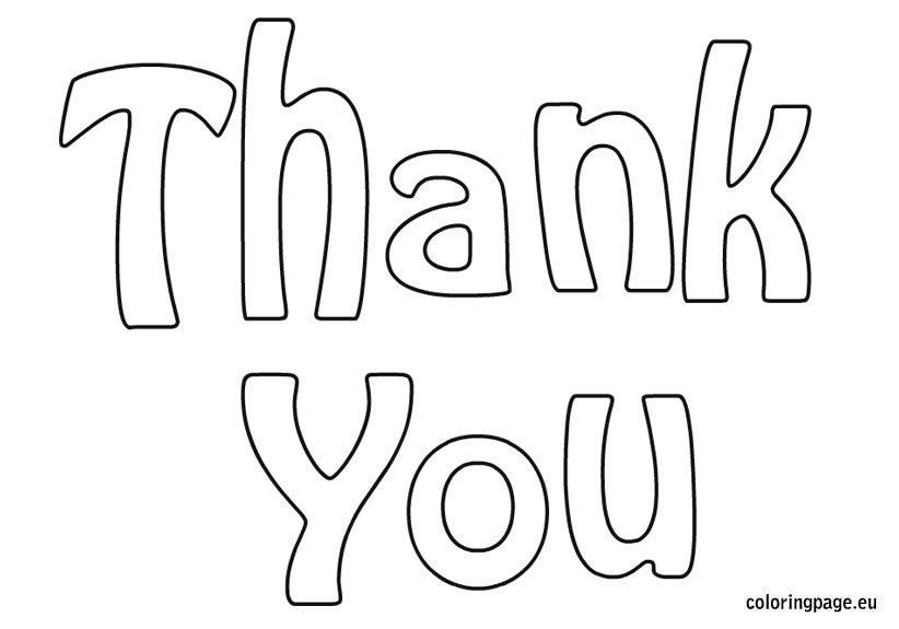 cartoon baby bear saying thank you coloring pages