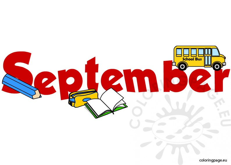 september coloring page rh coloringpage eu september clipart for school september clipart black and white
