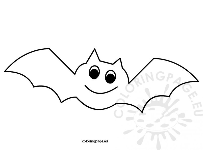 coloring pages related to halloween coloring page bat