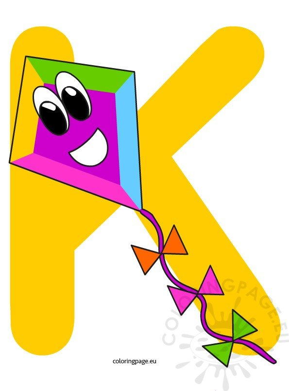 alphabet k page