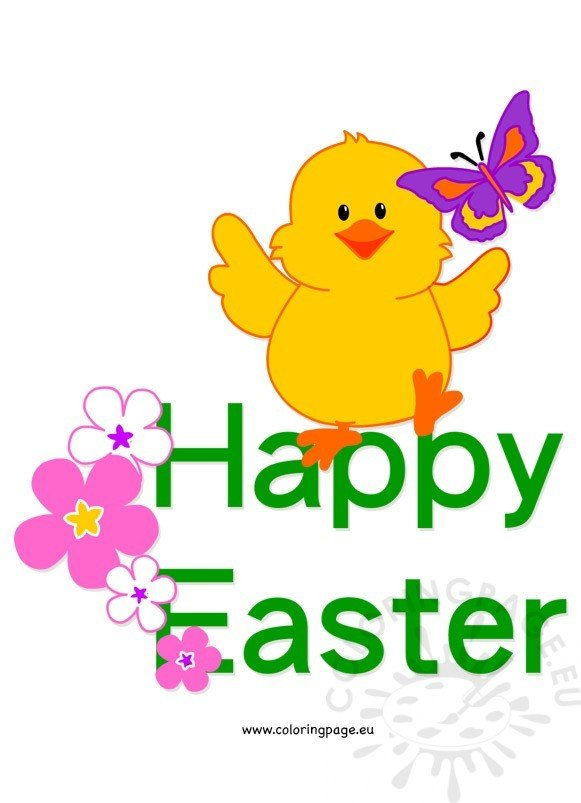 chick clip art related coloring pages happy easter cute chick coloring