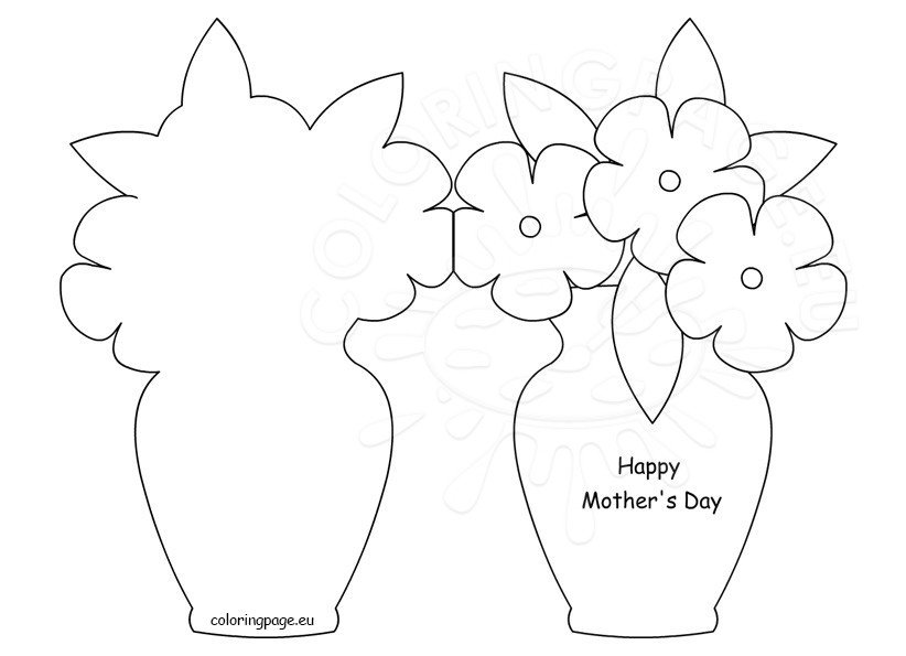 Happy Motheru0027s Day Card Template