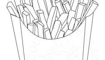 Potato Coloring Page Coloring Page