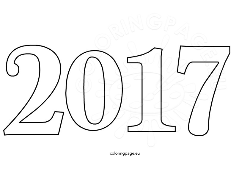 happy 2017 celebration number