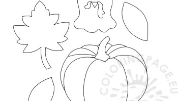 Thanksgiving Turkey template - Paper Craft | Coloring Page