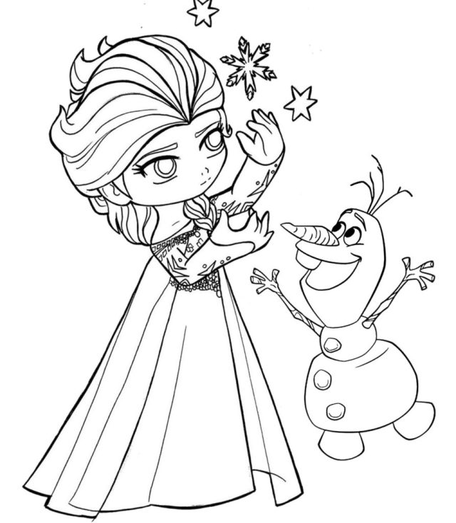 Disney Princess Coloring Pages PDF Download - Coloring Pages for Kids