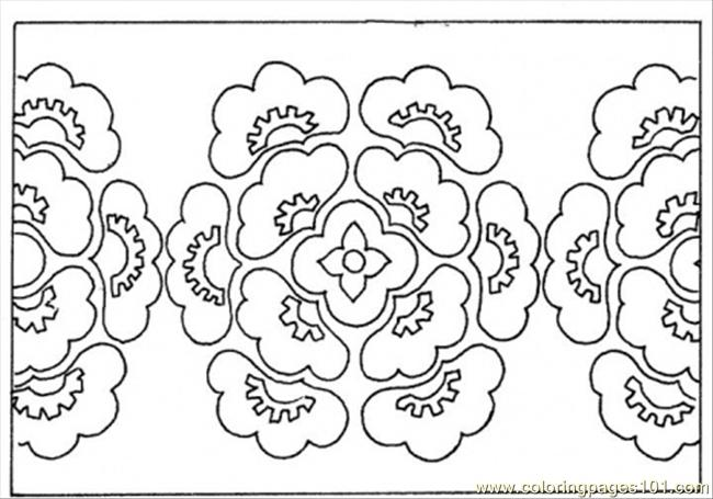 patterns to color printables pattern from flowers coloring
