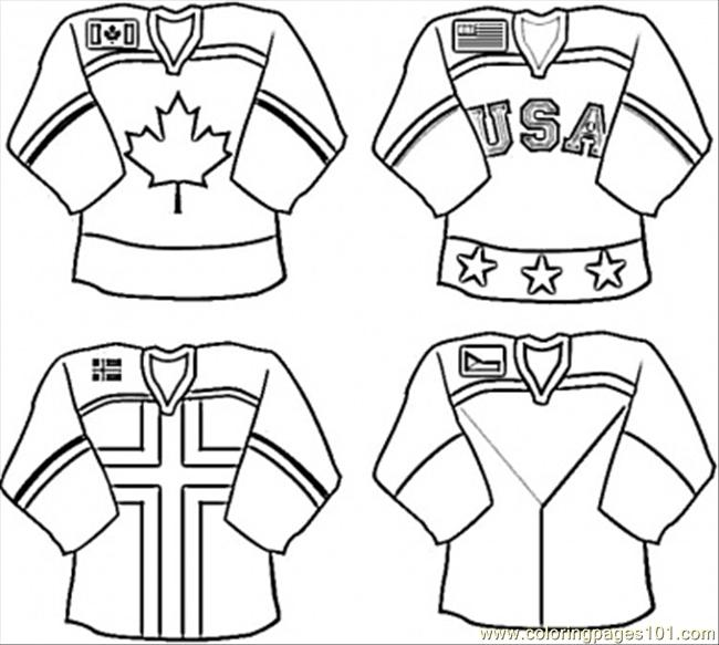nhl coloring pages printable hockey printables hockey gear