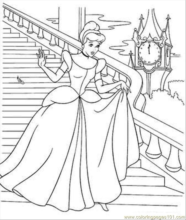 Cinderella's Stepmother And Two Sisters coloring page | Free ... | 771x650