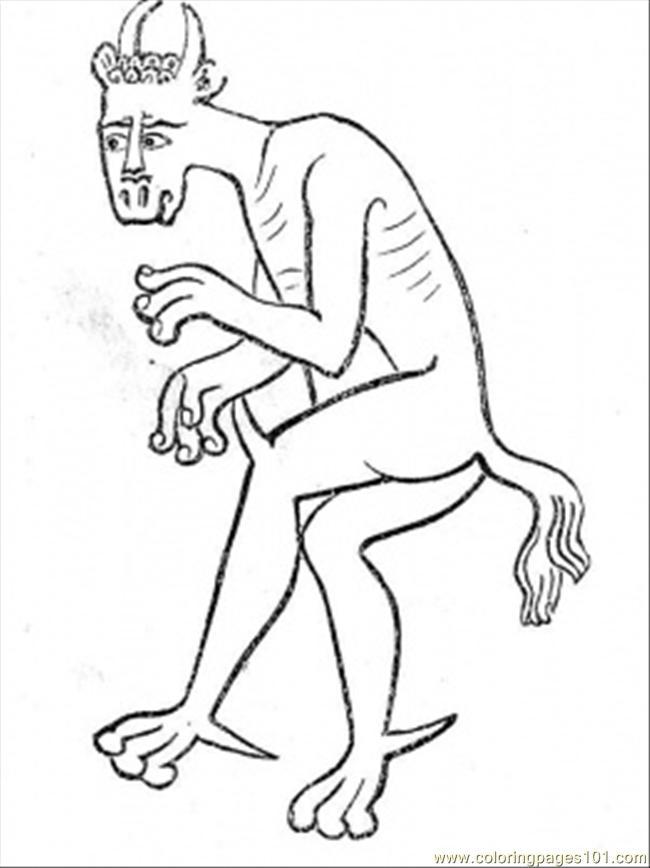 mythological demon other gt free printable