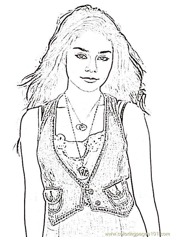 coloring pages highschoolmusical2 (peoples > others