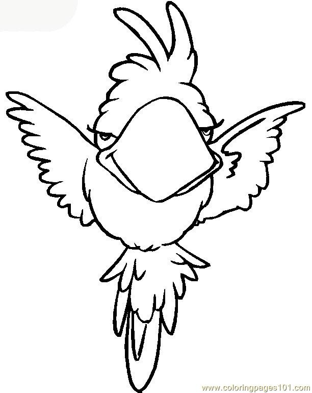 pics photos parrot color by number coloring page