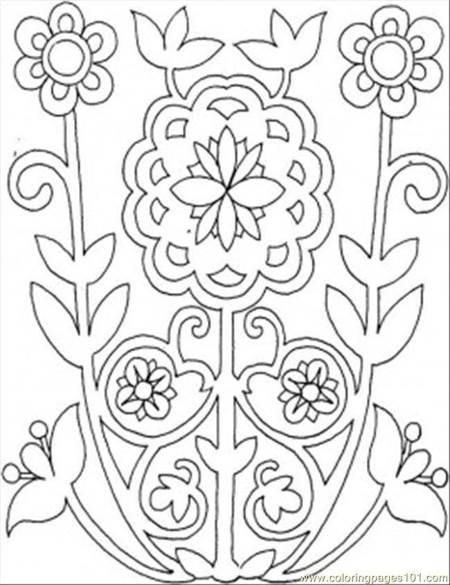 flower patterns to color flowers from the field other gt pattern