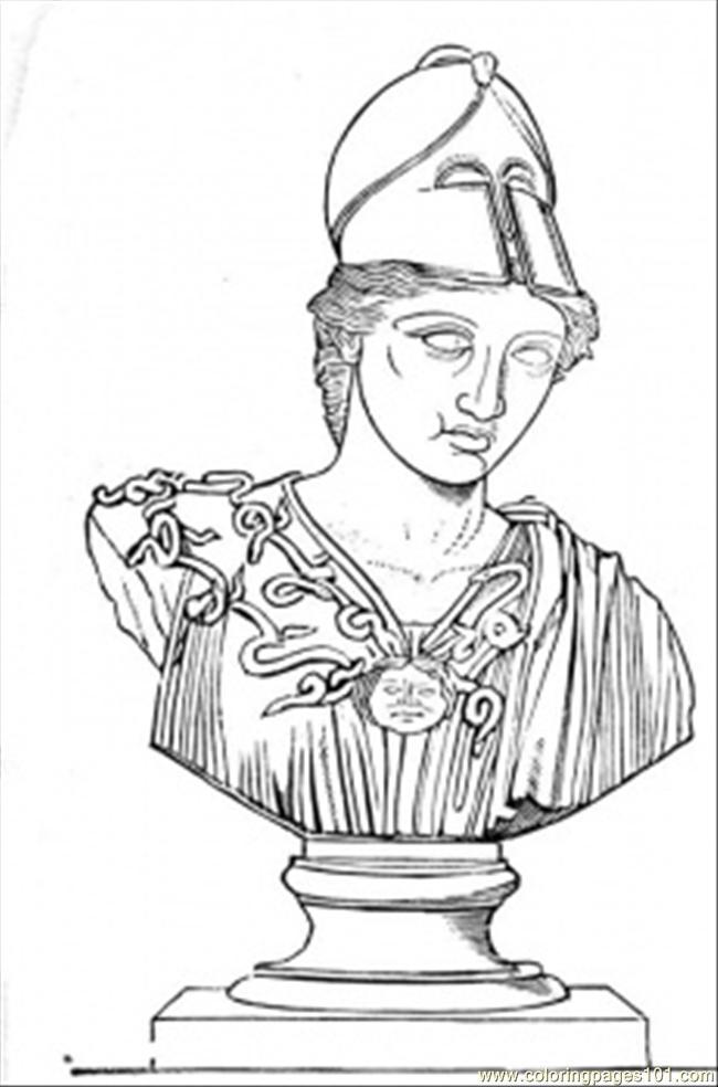 mythology printable on greek hoplite