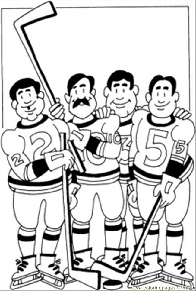 coloring page hockey team coloring page sports gt winter sports