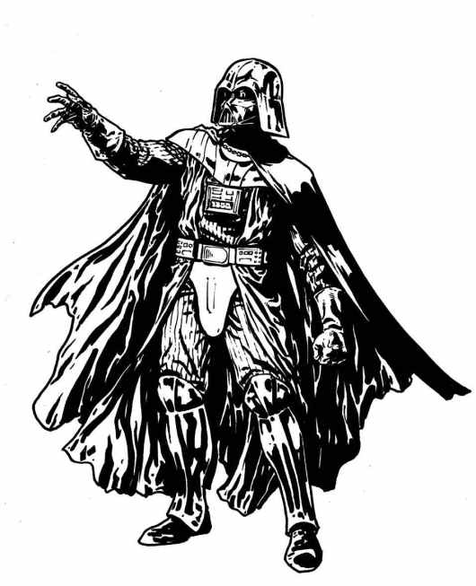 Darth Vader Coloring Pages to Print