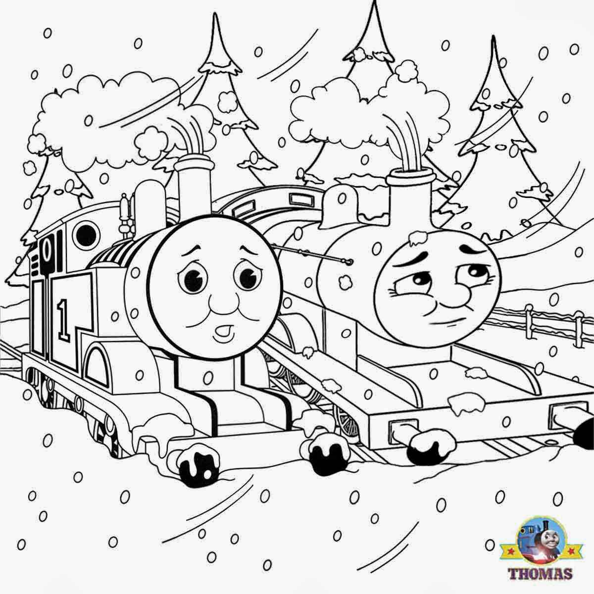 Ewtfgwho Thomas The Train And His Friends Coloring Pages