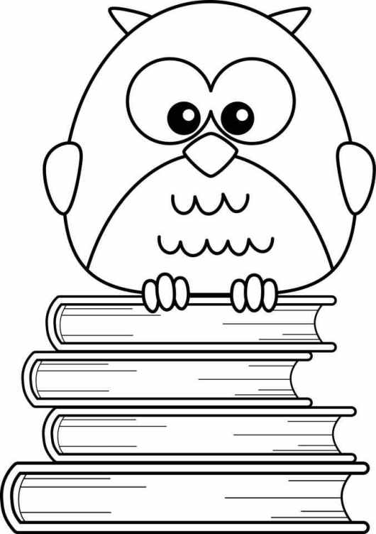 printable coloring pages of owls