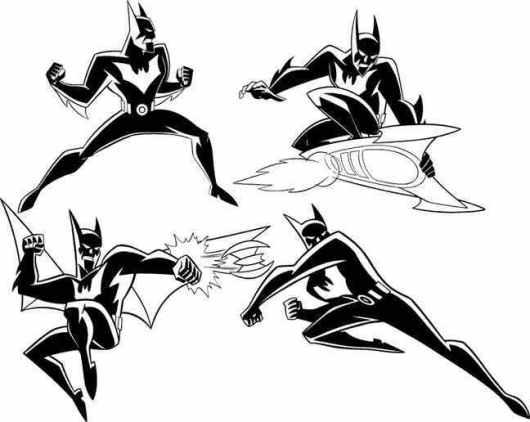 wrwq batman robin beyondcoloring pages online 224