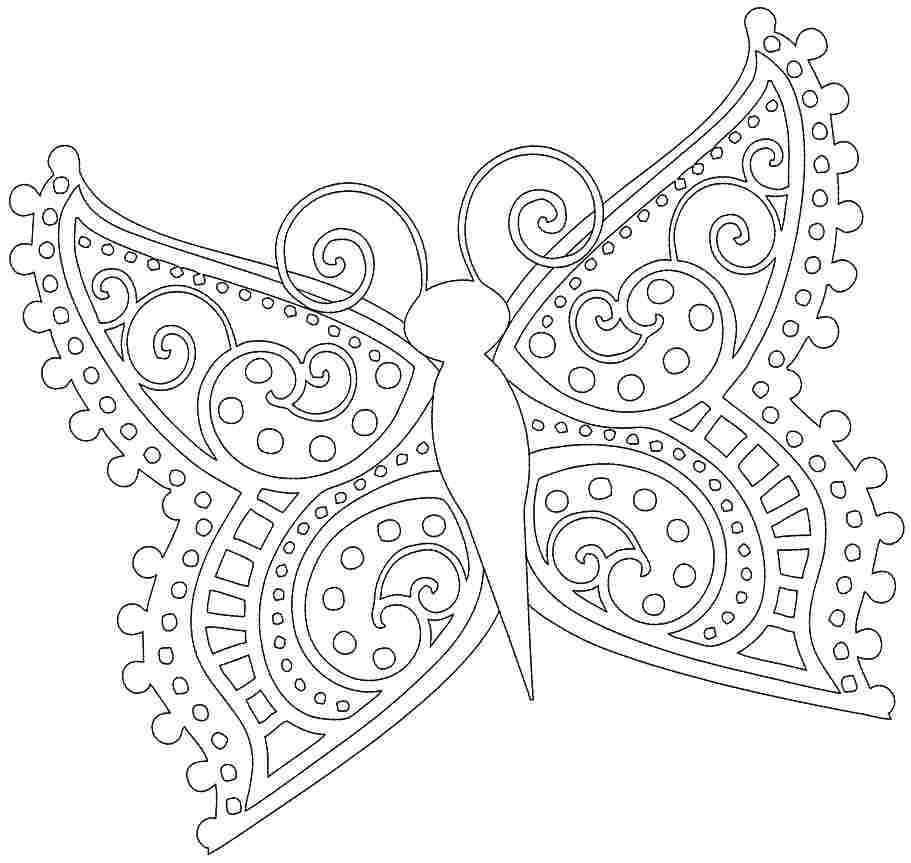 free printable coloring sheets of butterflies coloring pages for