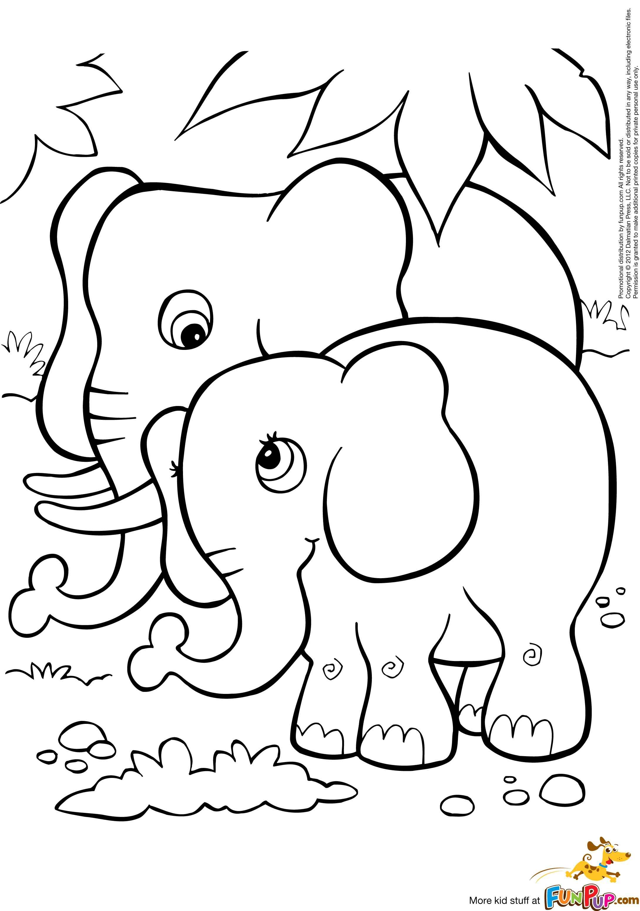 online baby elephant coloring page a fun method of coloring