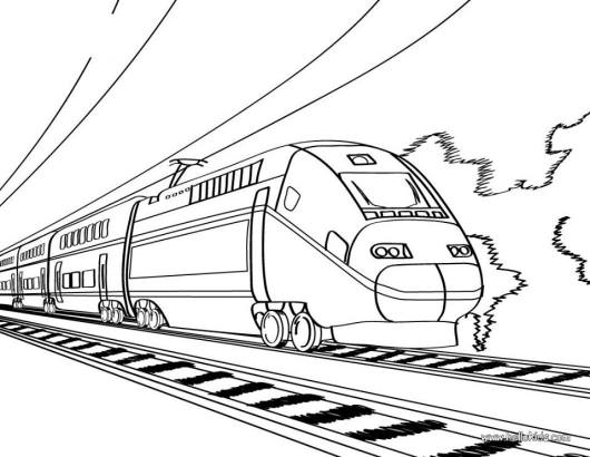 mass-rapid-transit-coloring-pages