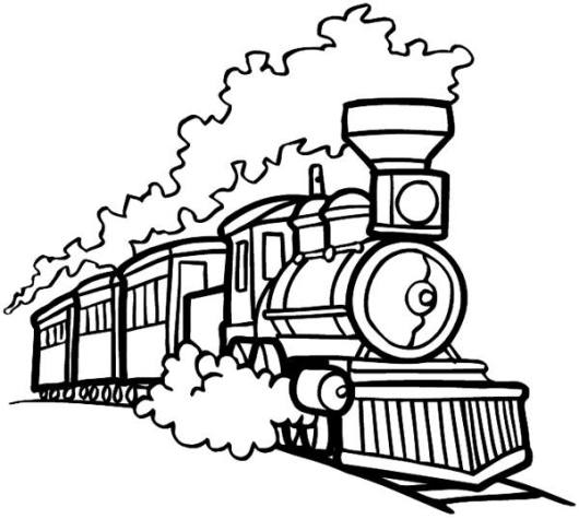 old-train-coloring-pages