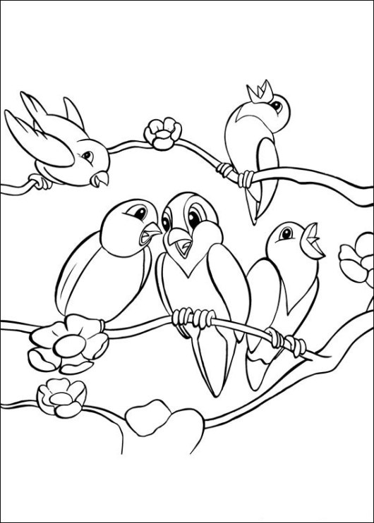 Bird-community-coloring-pages