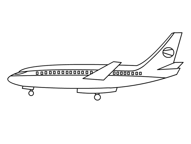 Airplane Coloring Pages - Coloring Pages