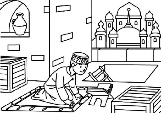muslim-kids-colouring-pages