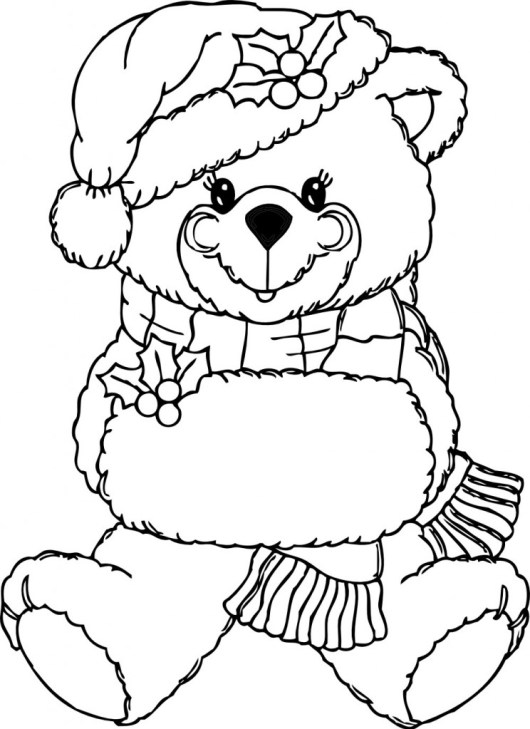 Free-Printable-Teddy-Bear-Coloring-Pages